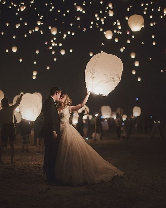 In Taiwanese culture, lanterns are released into the sky with people's written wishes. They're often used to represent a new journey, making these the perfect wedding experience for newly-wed couples starting a new chapter in their lives.  photo via @beyondthedarkroomphotography  What a send-off! Thank you @jenniferlongeats  Love the way we are ending this 4-month Instagram Takeover by these wonderful #BostonUniversity students in this #BUhospitality #EventPlanning course. #inspirationiseverywhere #inspoeverywherebu  My wish for all of you students is that you follow your dreams, find something you love to do, and never lose your passion for learning. Now on to your next chapter!!