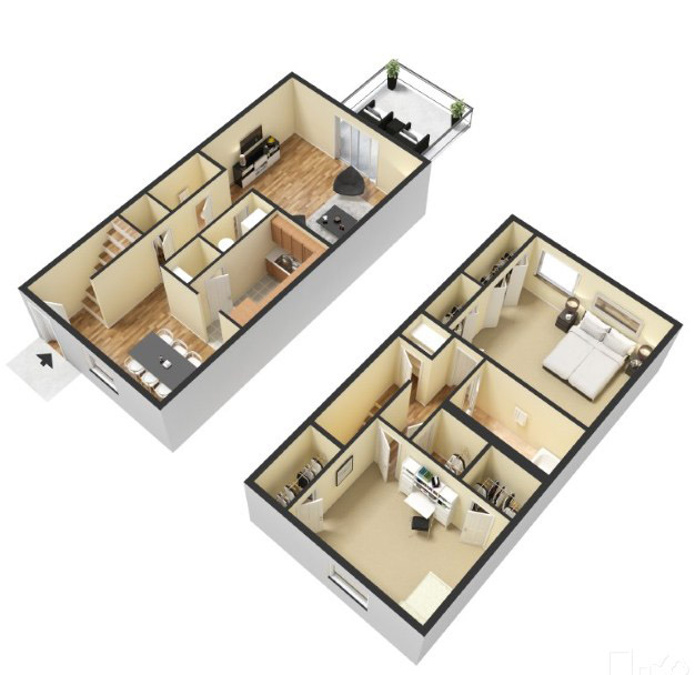 2 Bed Townhome.jpg