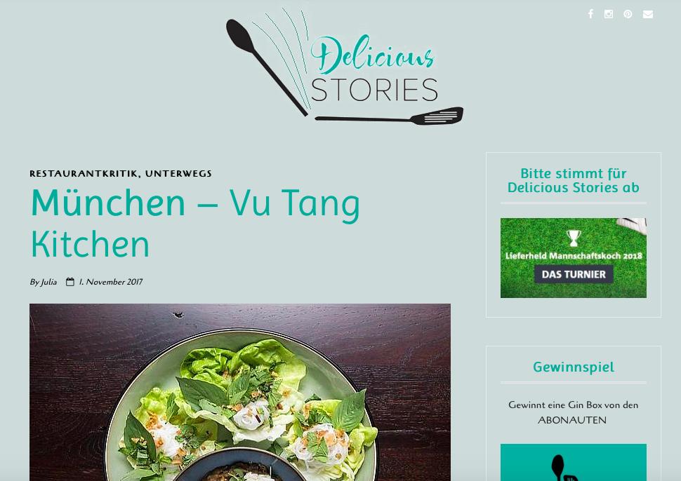 Delicious Stories
