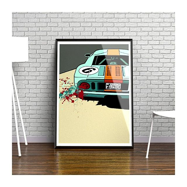 My Ford GT40 pop art prints are available from my store with a 10% discount. 🏁 🏎 . Use code ISAFB10 on checkout to redeem!  Limited to 100 copies only.  www.iansalmonart.com  Sizes (all printed on super high quality 308gsm fine art paper) A4: £29 A3: £49 A2: £69 . . . . . . . . . . . . . #fordgt40 #fordart #ford #artistoninstagram #digitalart  #artstagram #carswithoutlimits #fordartists #fordracing #artmagazine #carart #nurburgring #autoartist #originalart #modernart #contemporaryartist #artforsale #interiorstyling #autoart #popartist #warhol #modernart #topgear #pistonheads #interiordesign #interiordesigner #interiorinspiration #interiorinspo #classiccars #supercars