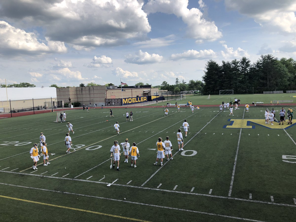 Photo courtesy @Moeller_Lax on Twitter