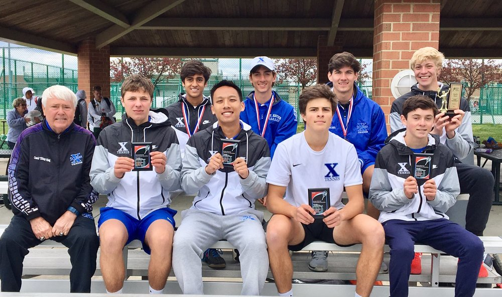 Photo courtesy @StXavierTennis on Twitter