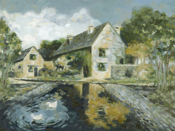 DeGeorge, cottage in the cotswolds, sm.jpg