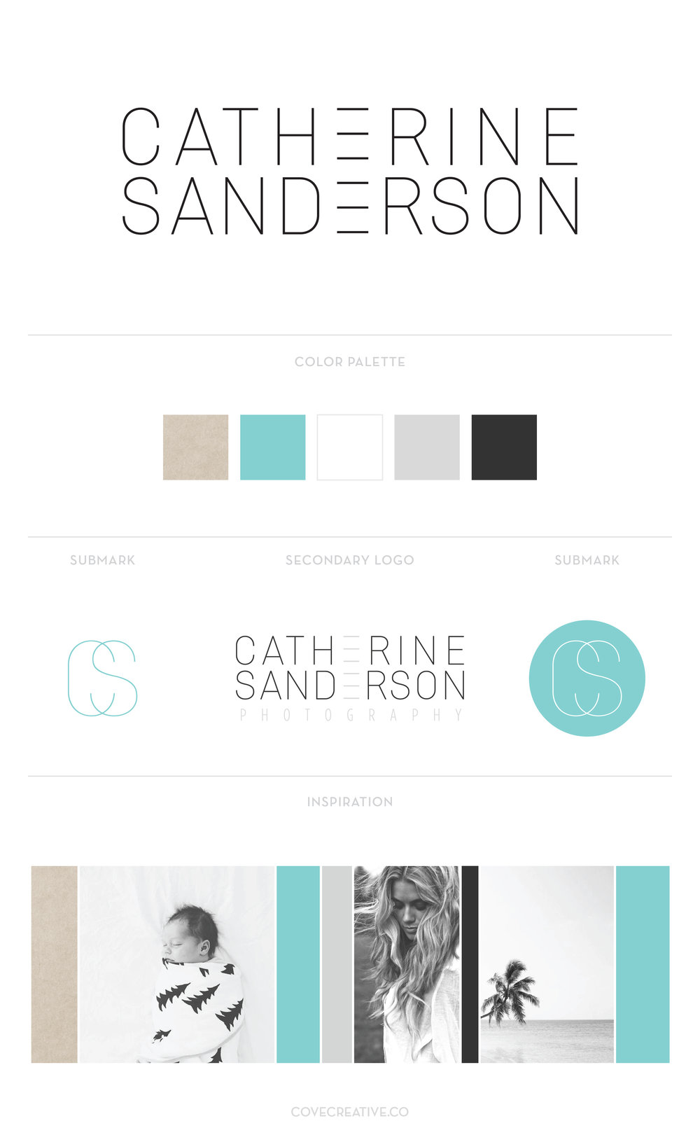 Catherine Sanderson Photography Branding Design