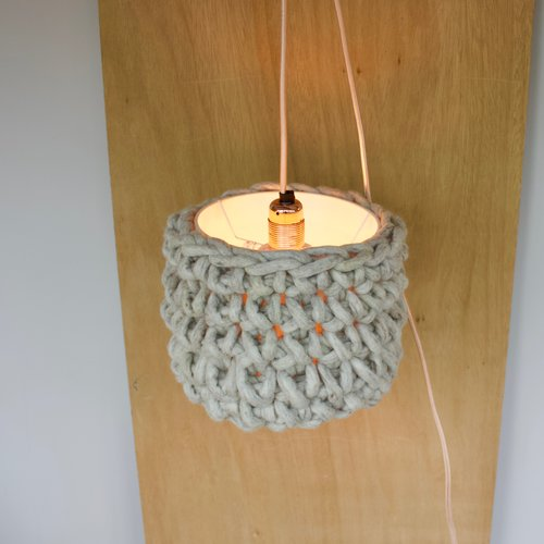 Felted wool woven lamp shades perch upholstery felted wool woven lamp shades aloadofball Images