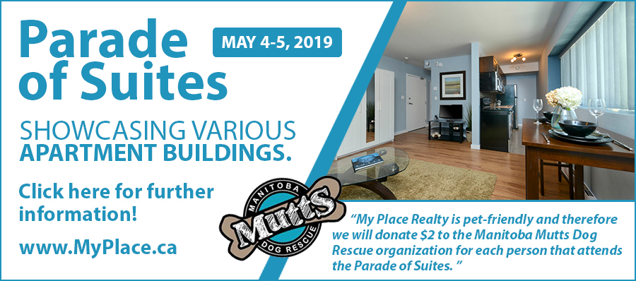 My Place Realty - Parade of Suites - May 4 - 5 , 2019