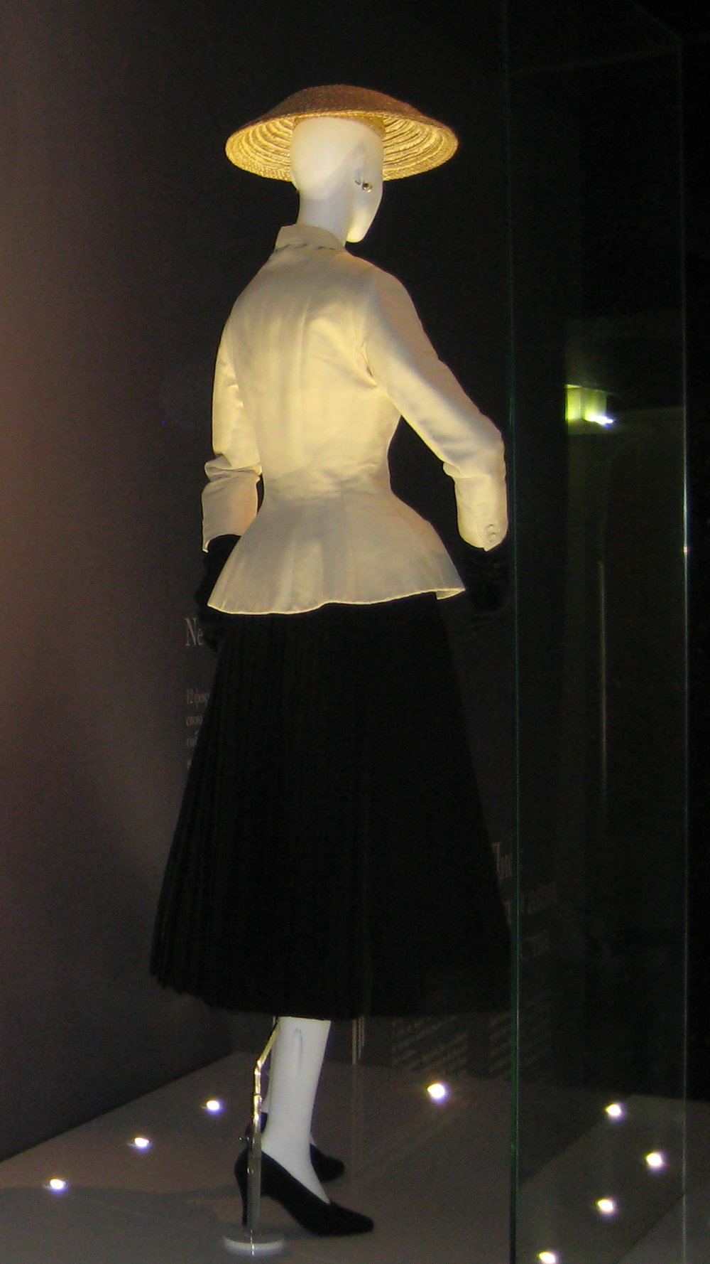 Christian Dior's Iconic Bar Suit  Photo Courtesy of Wikimedia