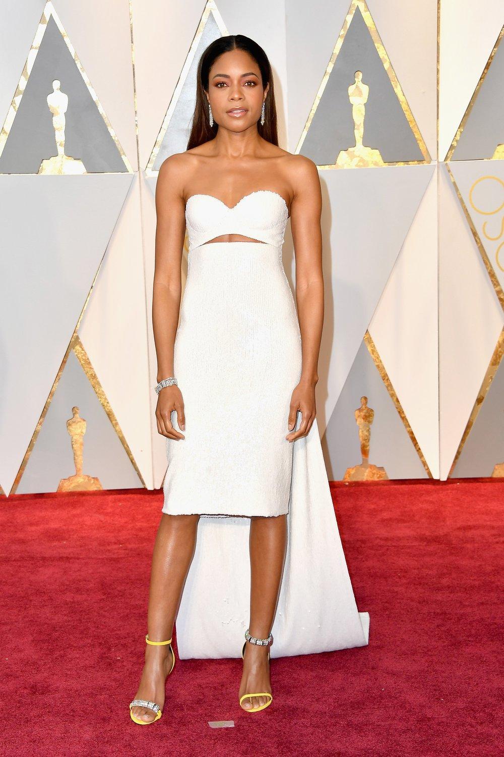 Naomie Harris in Calvin Klein. Photo courtesy of vogue.com.