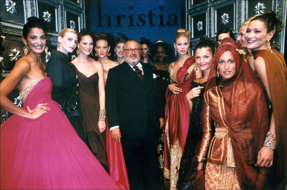 Gianfranco Ferre Haute Couture Collection, Fall/Winter 1996