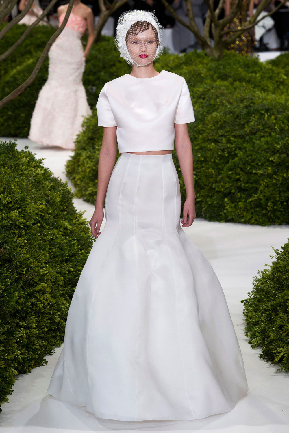 Raf Simons for Dior at the Spring 2013 haute couture show - Photo courtesy of vogue.com