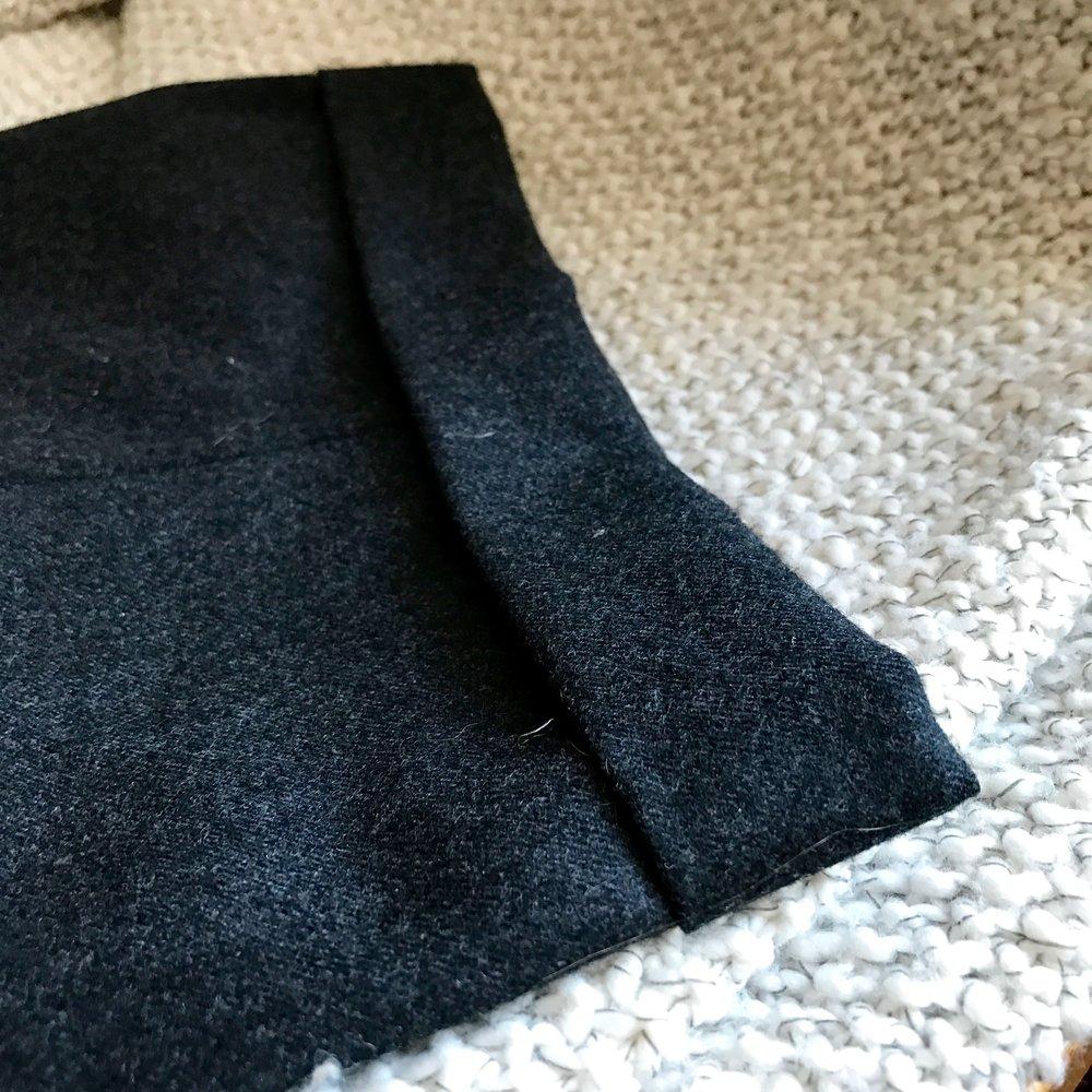 Cuff Detail - Vintage Chanel Pants