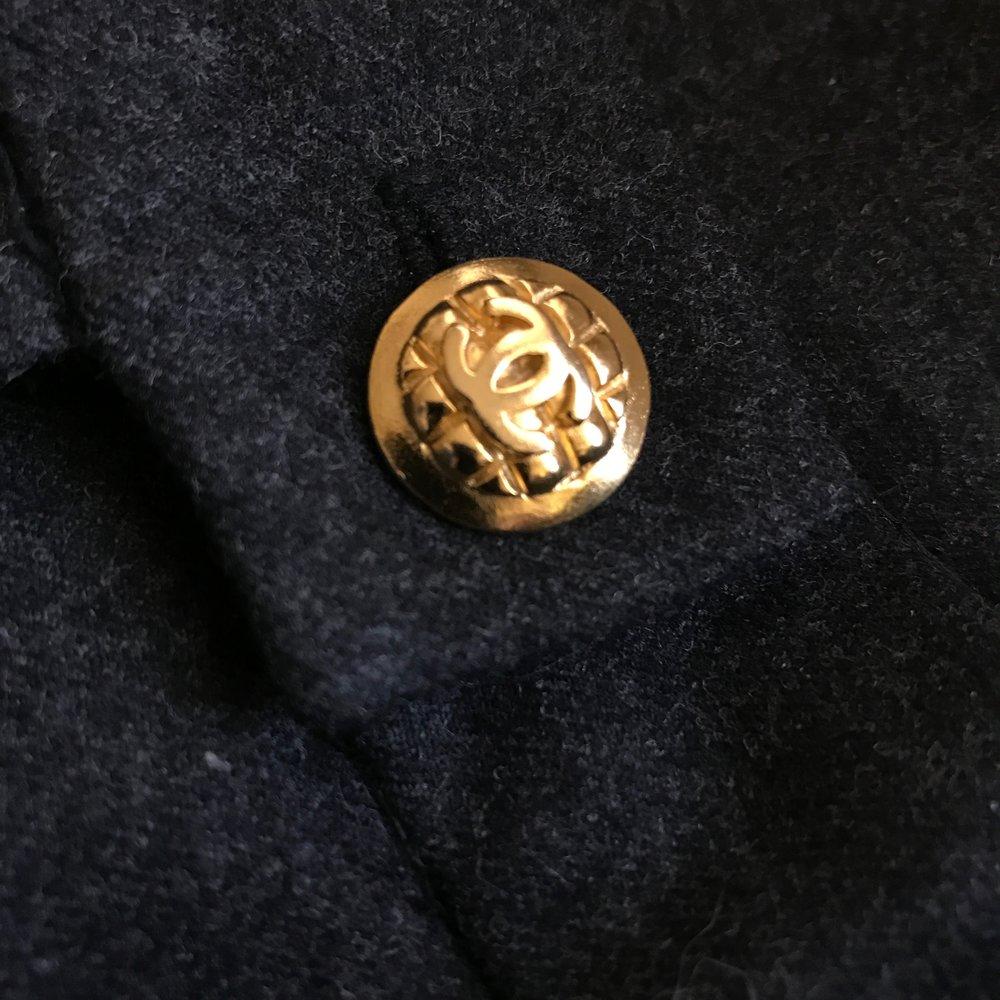 Button Detail - Vintage Chanel Pants