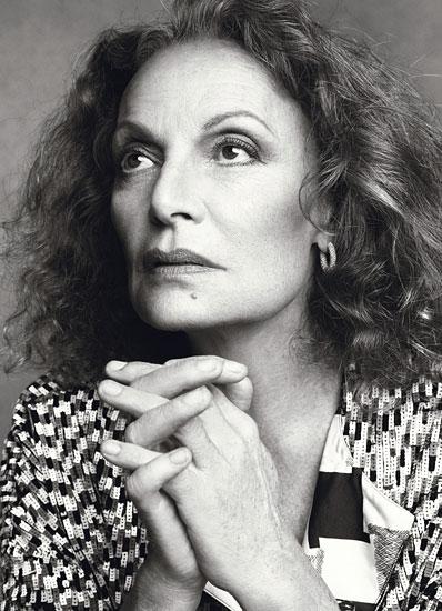 Diane von Furstenburg - photo courtesy of CFDA