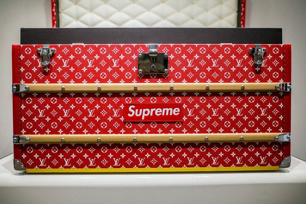 Supreme x Louis Vuitton Trunk