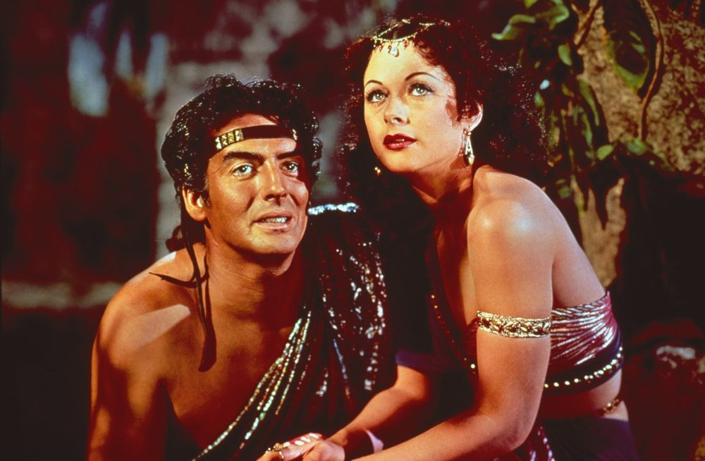 """Hedy Lamarr in """"Samson and Delilah"""" - 1949"""