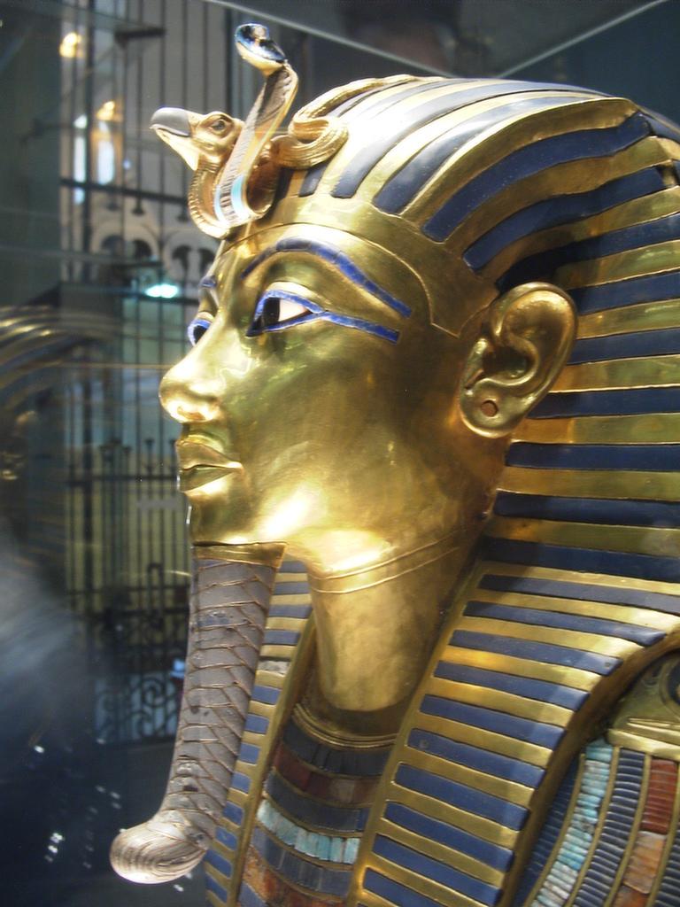 Uraeus of King Tutankhamun - Photo courtesy of Wikimedia Commons