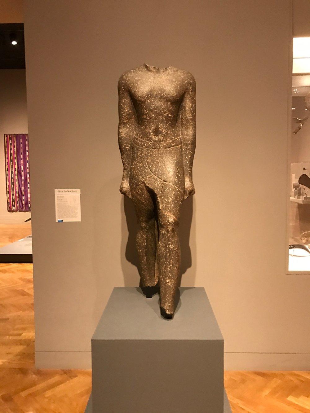 Egyptian Statue - Minneapolis Institute of Arts