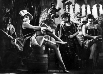Marlene Dietrich in  The Blue Angel  (1929). Image courtesy of wikipedia.org.