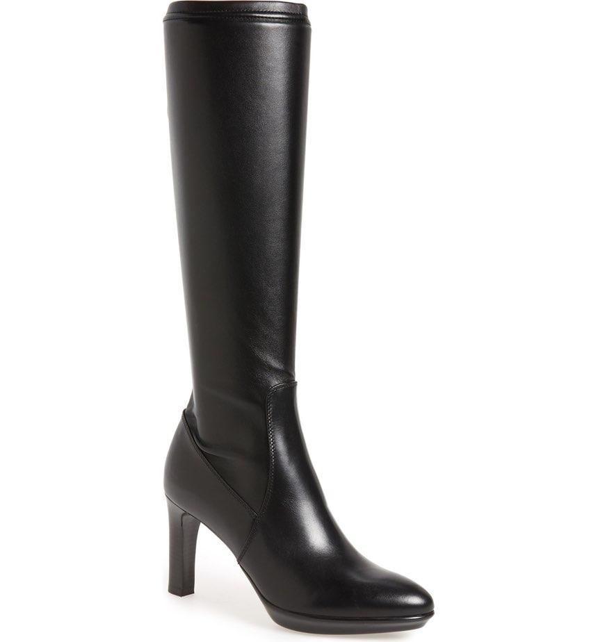 Aquatalia 'Rumbah' Weatherproof Knee High Stretch Boot