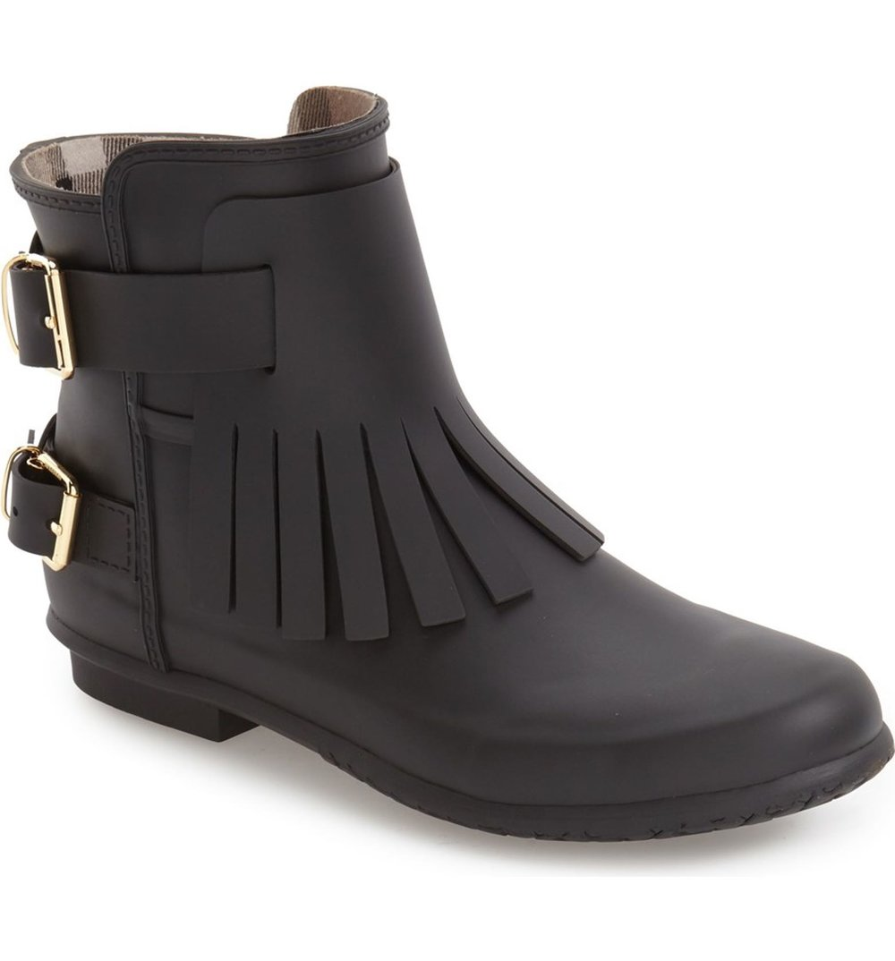 Burberry Fritton Kiltie Rain Boot