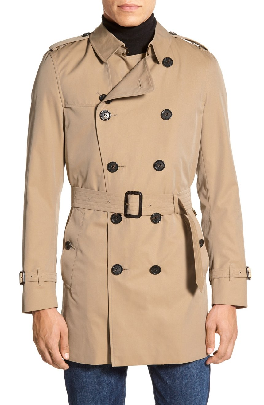 Burberry Kensington Double Breasted Trench Coats