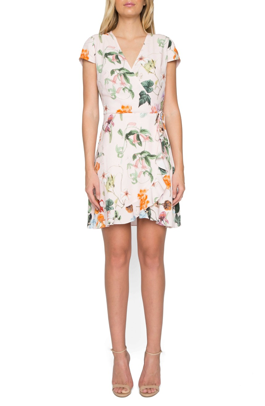 Willow & Clay - Floral Wrap Dress