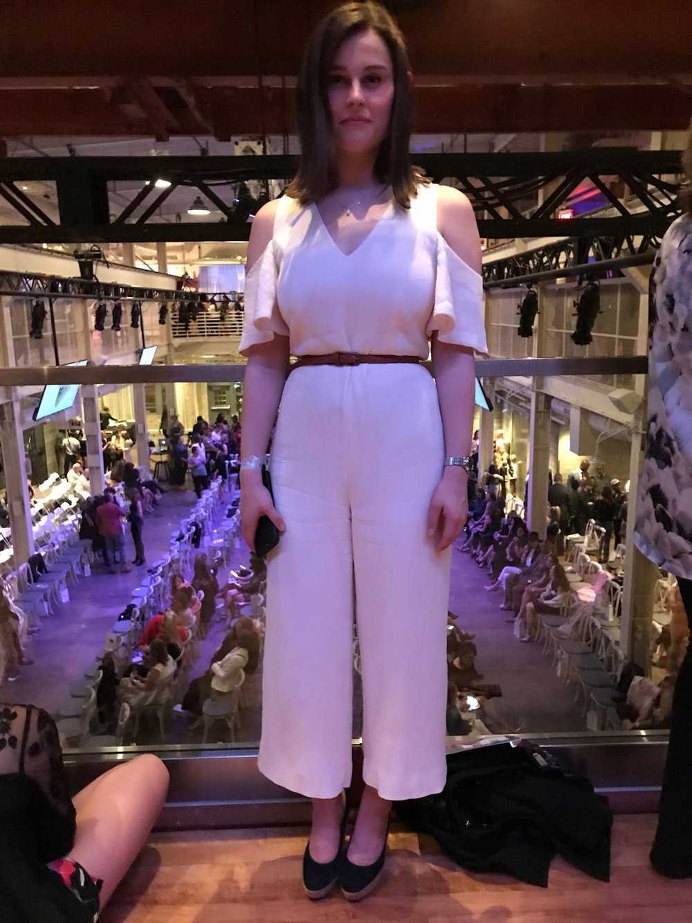 The nude jumpsuit in question
