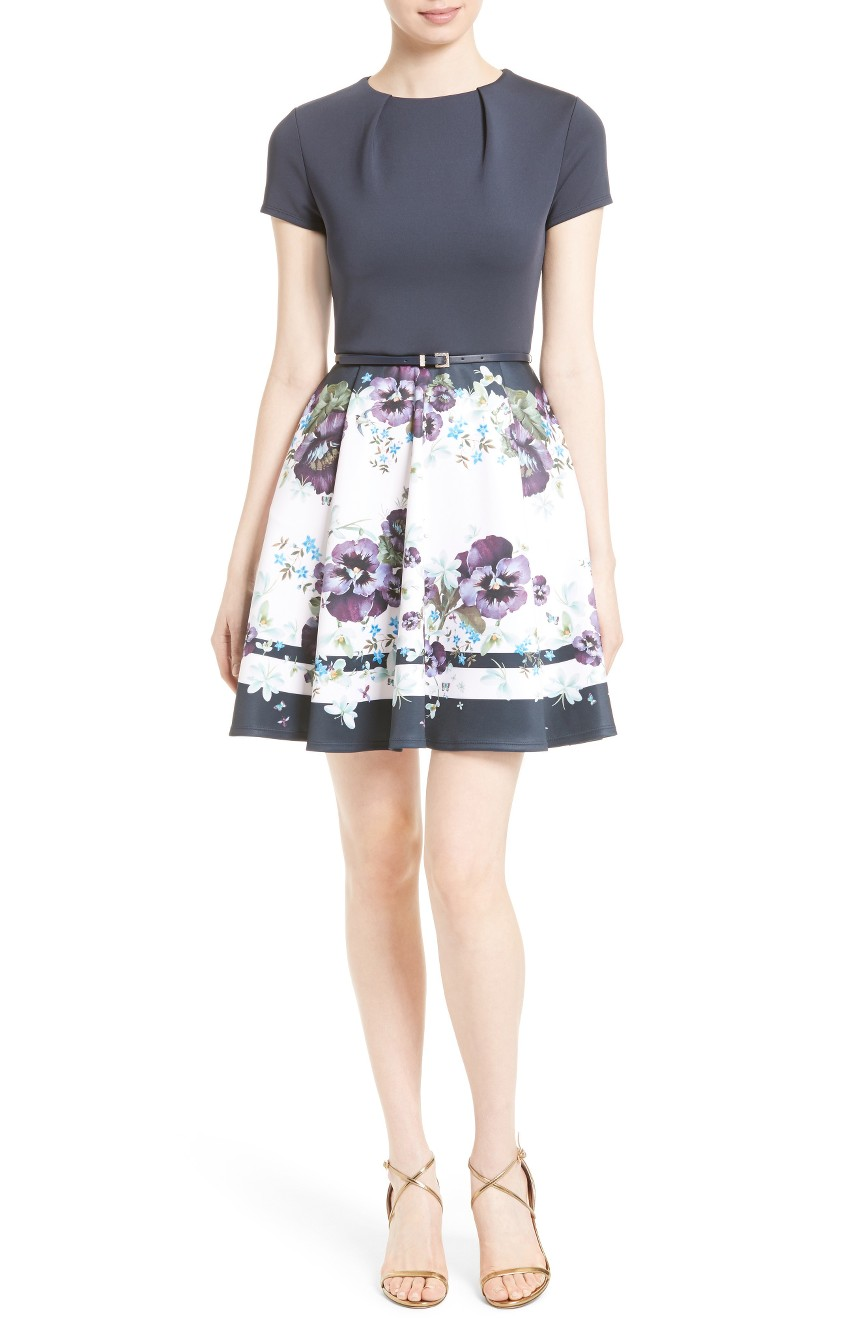 Ted Baker London - Stefh Fit and Flare Dress
