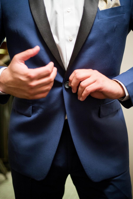 Tux Front Detail