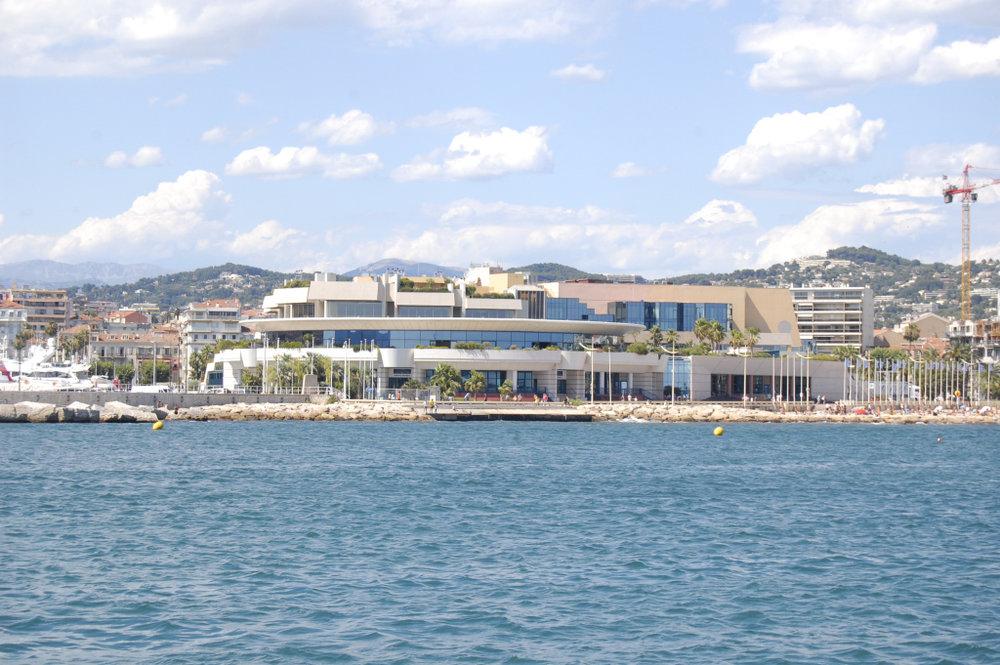 Palais des Festival et des Congrès - photo courtesy of Wikimedia