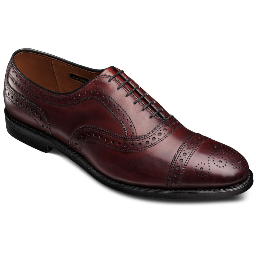 Allen Edmonds Stand Cap Toe Oxfords