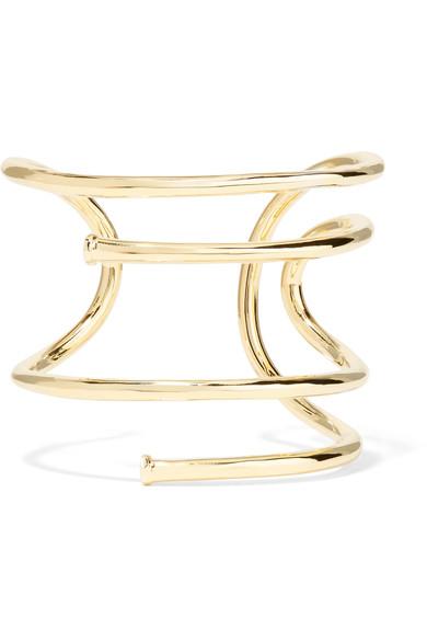 Jennifer Fisher Large Gold Plated Cuff