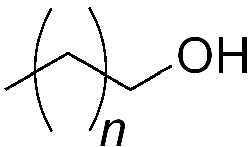 Molecule of Cetostearyl Alcohol