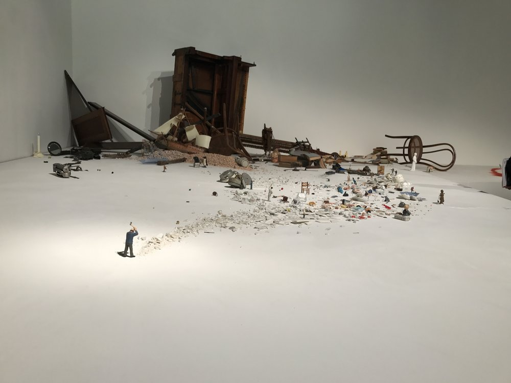 Some works are weird. Some are huge. And some are delightfully miniature.