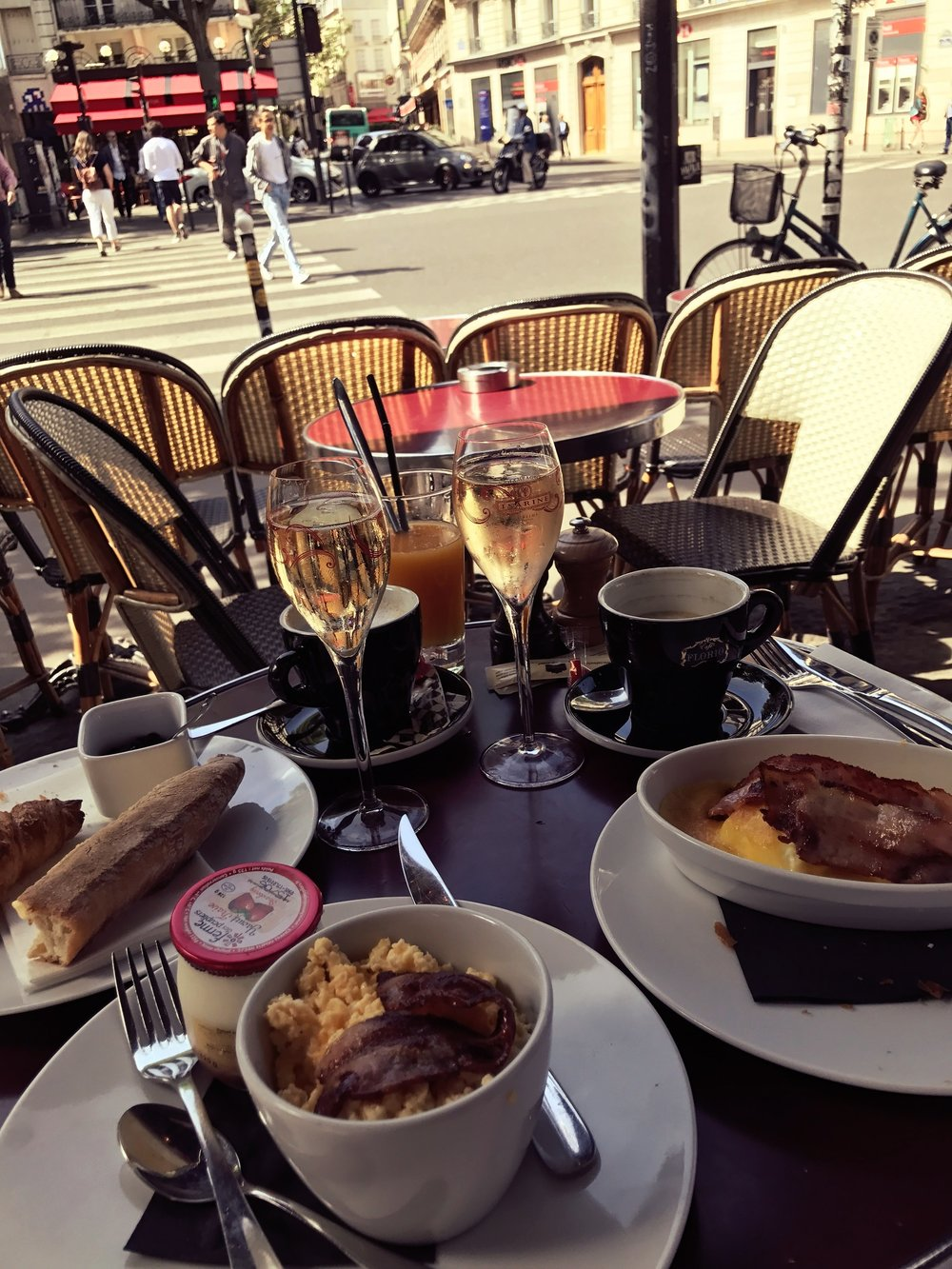 What could possibly make brunch, the best meal ever, even better? Paris of course.