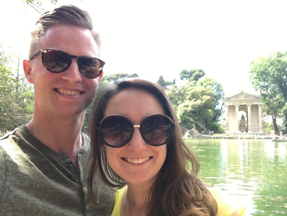 Lisa and Derek Sunglasses