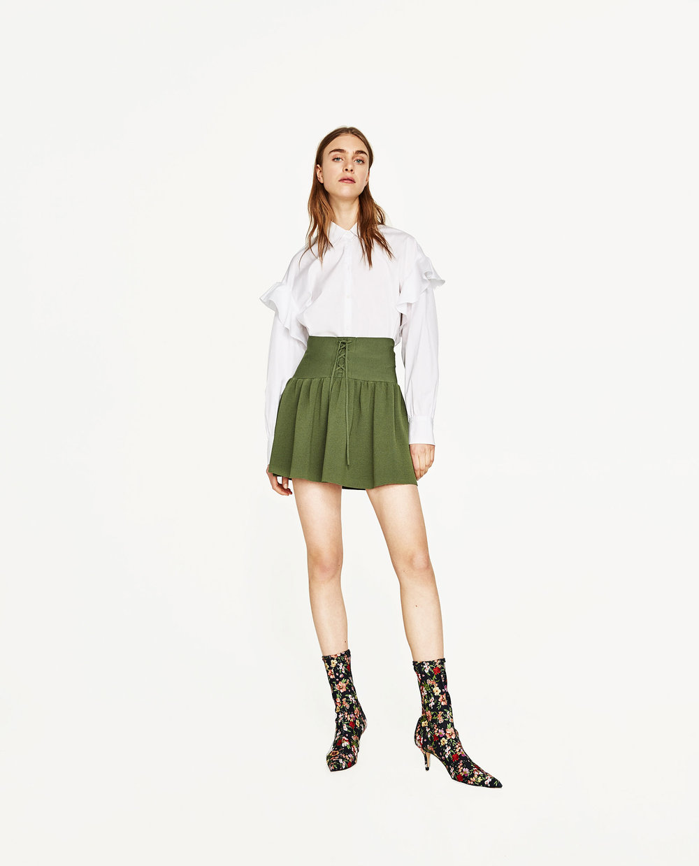 Zara Ruffle Shirt