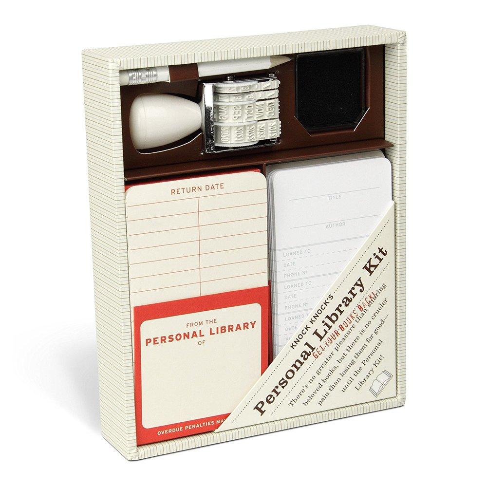 Amazon - Knock Knock's Personal Library Kit