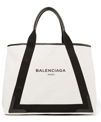 Balenciaga Canvas Leather Tote.jpg