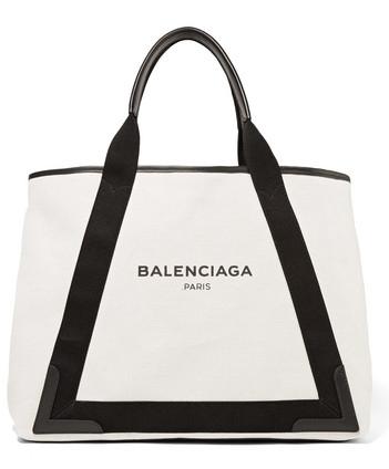 Balenciaga Canvas Leather Tote.jpg