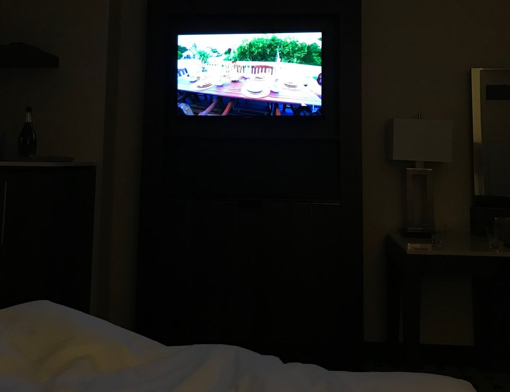 HGTV from the bed