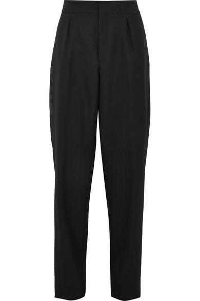 Saint Laurent High Waisted Trousers