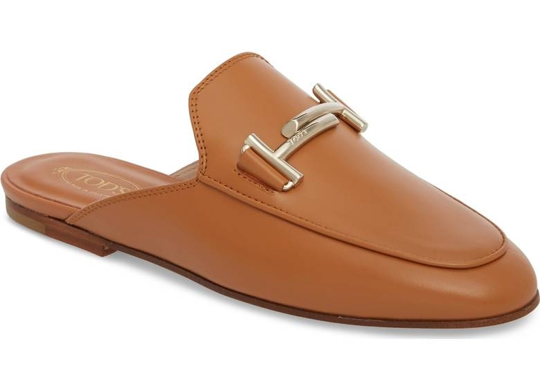 Slip into these Tod's Double -T Mules if you want the feel of a slipper but you've got a 9-5.