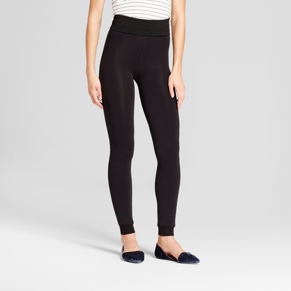 I got these leggings for layering when playing outside, but I'll be the first to admit I wear them just about all the time. They're so soft, warm, and the ultimate in winter luxury if you ask me.
