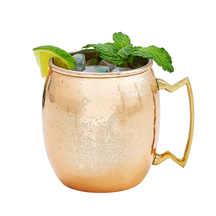 Moscow Mules have quickly become a winter favorite for me and my husband. As warming as they are refreshing, it's the perfect drink for a cold, wintry night (or really anytime, they are seriously delicious). My tip is to add a few mint leaves to make it even more refreshing.