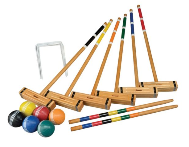 Croquet all day.