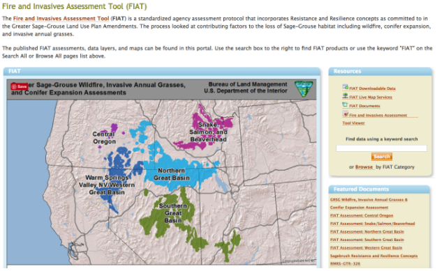 Fire and Invasives Assessment Tool (FIAT) -