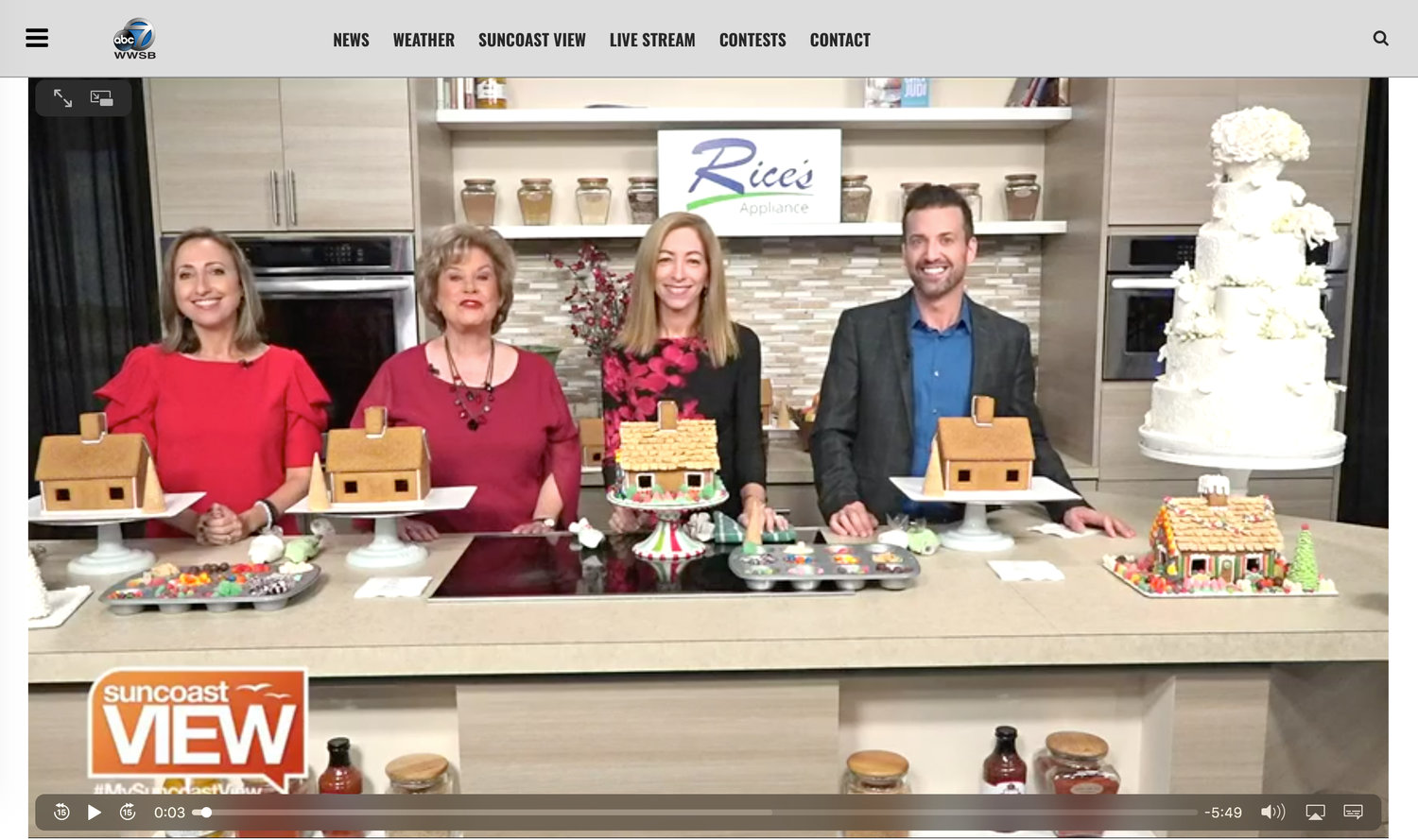 Video Gingerbread House Decorating With Julie Deffense