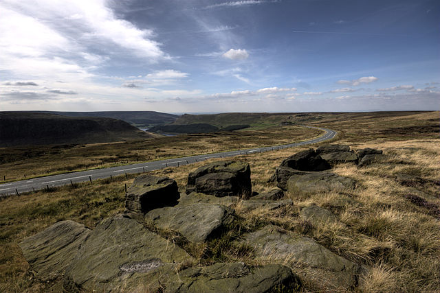 Saddleworth Moor, where some of the bodies were found buried.