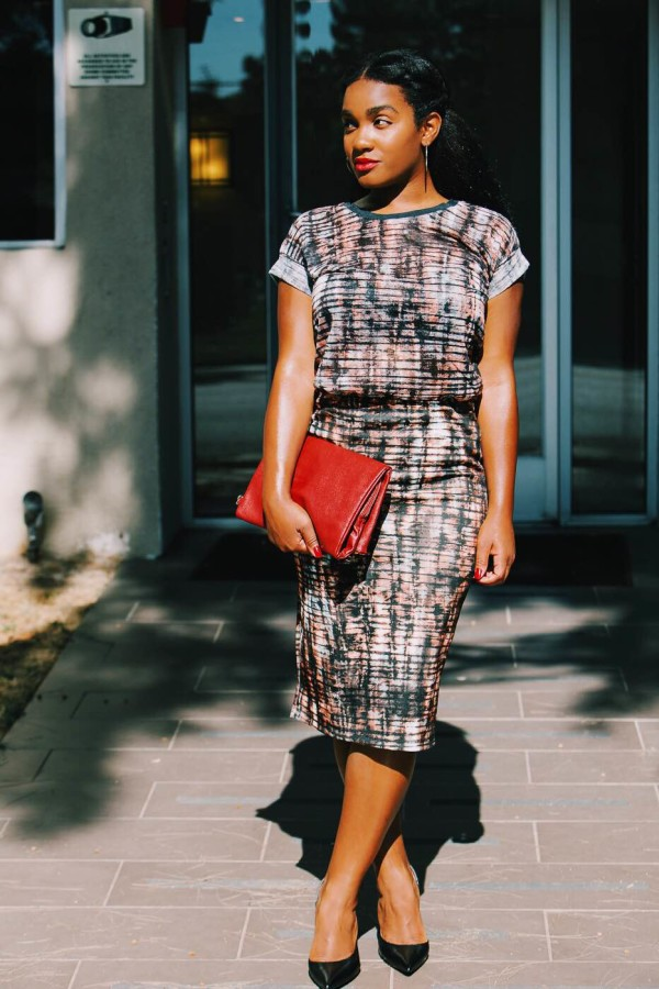 Target Style Haul printed top and skirt